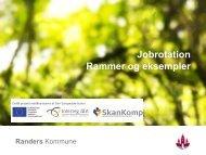 Præsentation fra Helle Bonde, Randers Kommune - Vinsa