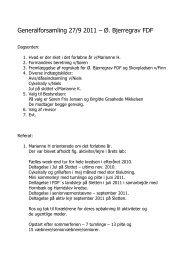 Referat fra generalforsamling tirsdag d. 27. september 2011