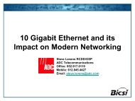 10 Gigabit Ethernet and its Impact on Modern Networking - Bicsi
