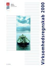 Virksomhedsregnskab 2000 - Søfartsstyrelsen