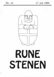 17. juli 1995 - Runestenen