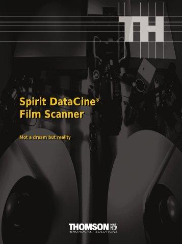 Spirit DataCine - Thameside.tv