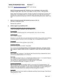Referat af bestyrelsesmøde 2011 - vraa.org