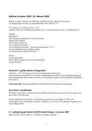 Referat af møde nr. 10 den 22. februar 2008 - Kulturstyrelsen
