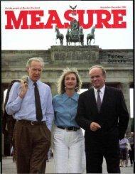 Cover - The New Germany, Brandenburg Gate - HP