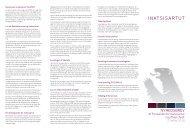 Formandens nyhedsbrev 2. halvår 2010 - Inatsisartut