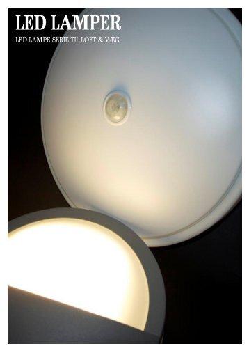 Datablad LED Lamper - Light4U