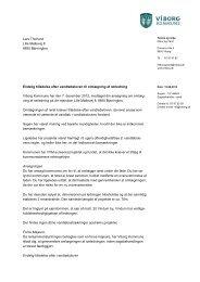 Endelig tilladelse efter vandløbsloven til ... - Viborg Kommune