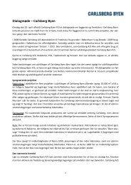 Hent referat af dialogmøde den 10. april 2013 (pdf) - Carlsberg Byen