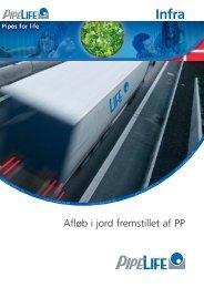 Pipelife EI-installationsrör Infra - Om Pipelife