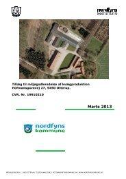 Tillæg til miljøgodkendelse af kvægproduktion - Nordfyns Kommune