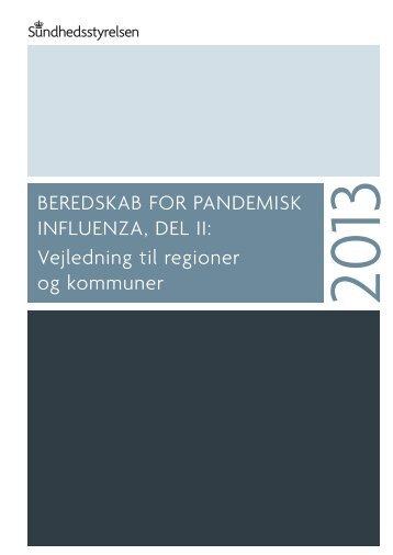 Beredskab for pandemisk influenza, del II - Sundhedsstyrelsen