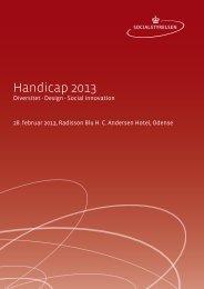 Handicap 2013 - Servicestyrelsen