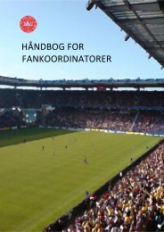 Håndbog for fankoordinatorer_endelig version - Supporters Direct