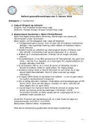 Referat generalforsamlingen den 3. februar 2010 ... - Svendborg OK