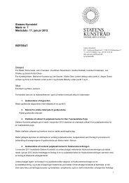 Referat af møde i Statens Kunstråd den 11. januar 2012 - Kunst.dk