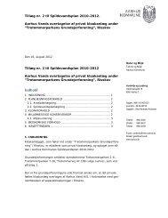 Tillæg 2 til Spildevandsplan 2010-2012 - Aarhus.dk