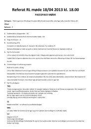 Referat RL møde 18/04 2013 kl. 18.00 - Golden Retriever Danmark