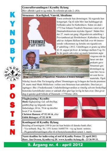 april 2012 - Kyndby Bylaug