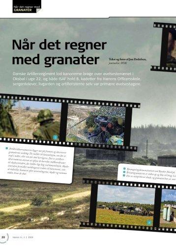 Når det regner med granater - Geriche.dk