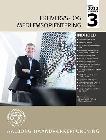 Medlemsblad nummer 3 (september) - Aalborg Haandværkerforening