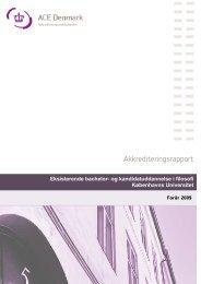 Akkrediteringsrapport - ACE Denmark