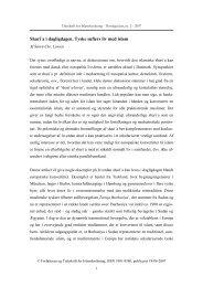 Del 1 - Forum for Islamforskning