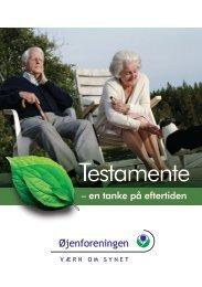 Testamente - Øjenforeningen Værn om Synet