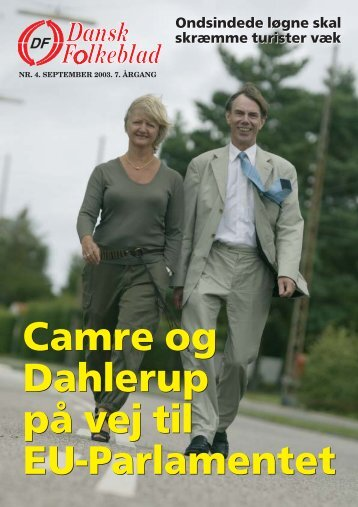 Dansk Folkeblad nr. 4 - 2003 - Dansk Folkeparti