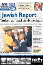 Turkey as Israel-Arab mediator - South African Jewish Report