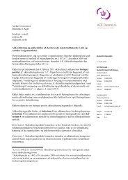 Aarhus Universitet Marianne J. Kjær Sendt pr. e-mail - Danmarks ...