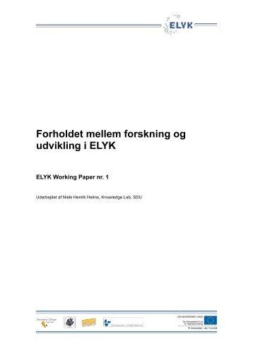 Niels Henrik Helms (2010): Forholdet mellem forskning og udvikling i
