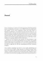 Forord - dansk musikforskning online