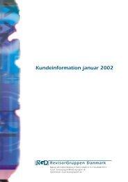 Kundeinformation januar 2002 - Martinsen Statsautoriseret ...