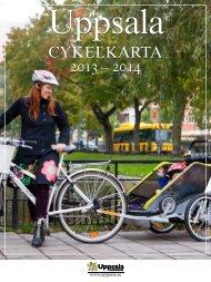 Cykelkarta 2013-2014 - Uppsala kommun
