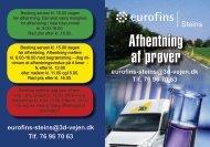 Hent folderen Afhentning af prøver [PDF 724 Kb] - Eurofins