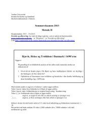 For Studerende - Aarhus Universitet