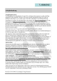 Sagsbehandling Arbejdsskadesag - Armoni
