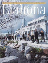 Maj 2003 Liahona - Jesu Kristi Kirke af Sidste Dages Hellige