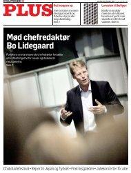 Mød chefredaktør Bo Lidegaard - Politiken Plus