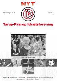 Motion 54. årgang • Nr. 4 Maj 2011 - Tarup Paarup Idrætsforening