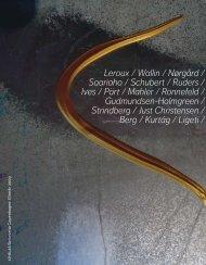 Download efterårskataloget her - ATHELAS Sinfonietta Copenhagen