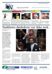 Saddams dødsdom var ikke nok. - Sydvestjyllands Efterskole