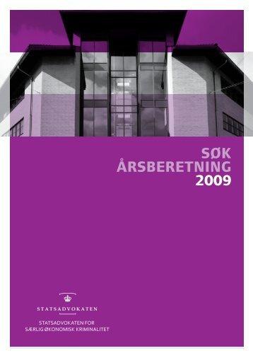 SØK Årsberetning 2009 - Politiets