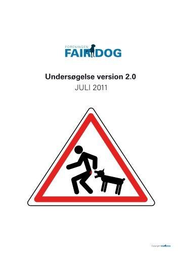 Hunde bid før og efter hundeloven. - Fair dog