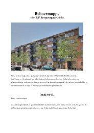 Beboerhåndbog _2012-05-02 - Ejerforeningen Bremensgade 30-34