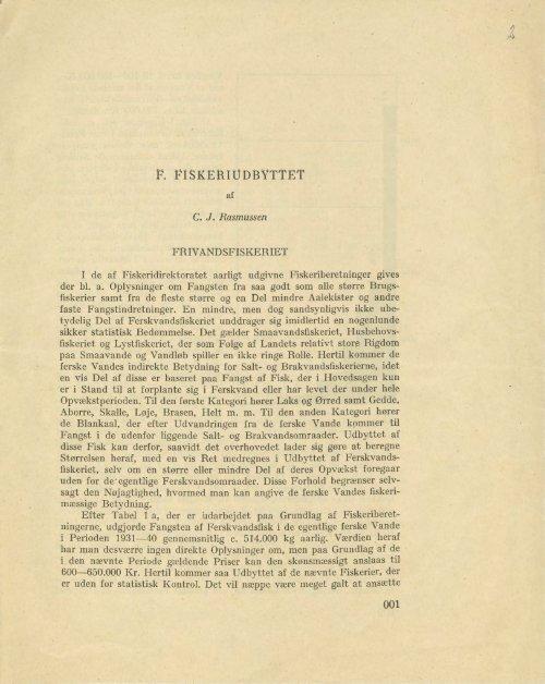 Frivandsfiskeriet - Runkebjerg.dk