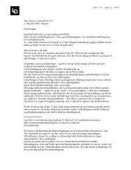 Den 30. april 2007 Hans Jensen, formand for LO 1. maj-tale 2007 ...