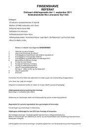 Afdelingsmøde referat 010911 - Finsenshave