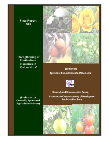Strengthening of Horticulture Nurseries in Maharashtra